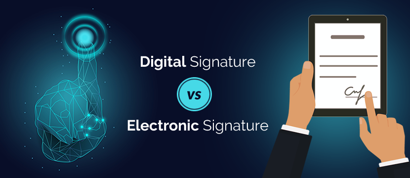 Digital Signature vs Electronic Signature Decoded